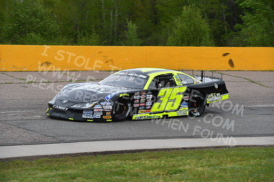 """20170521 265 - ARCA Midwest Tour """"Cabin Fever 100"""" at State Park Speedway - Wausau, WI - 5/21/17"""