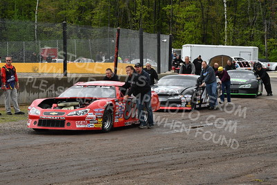 """20170521 007 - ARCA Midwest Tour """"Cabin Fever 100"""" at State Park Speedway - Wausau, WI - 5/21/17"""