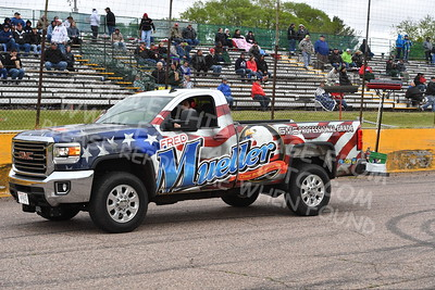 """20170521 395 - ARCA Midwest Tour """"Cabin Fever 100"""" at State Park Speedway - Wausau, WI - 5/21/17"""