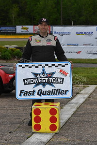 """20170521 383 - ARCA Midwest Tour """"Cabin Fever 100"""" at State Park Speedway - Wausau, WI - 5/21/17"""