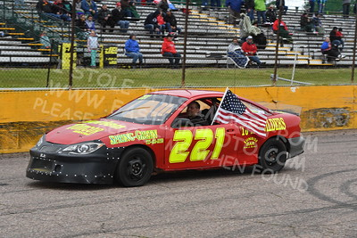 """20170521 391 - ARCA Midwest Tour """"Cabin Fever 100"""" at State Park Speedway - Wausau, WI - 5/21/17"""