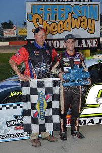"""20170527-491 - ARCA Midwest Tour """"Salute the Troops 100"""" at Jefferson Speedway - Jefferson, WI 5/27/2017"""