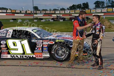 """20170527-483 - ARCA Midwest Tour """"Salute the Troops 100"""" at Jefferson Speedway - Jefferson, WI 5/27/2017"""