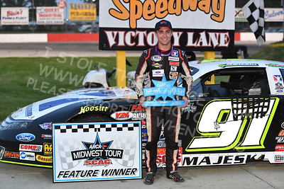 """20170527-355 - ARCA Midwest Tour """"Salute the Troops 100"""" at Jefferson Speedway - Jefferson, WI 5/27/2017"""