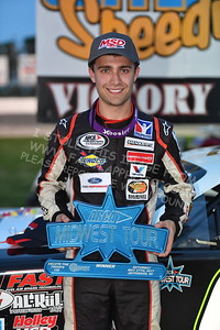 """20170527-359 - ARCA Midwest Tour """"Salute the Troops 100"""" at Jefferson Speedway - Jefferson, WI 5/27/2017"""