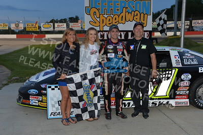 """20170527-489 - ARCA Midwest Tour """"Salute the Troops 100"""" at Jefferson Speedway - Jefferson, WI 5/27/2017"""