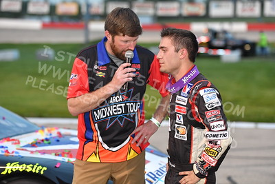 """20170527-351 - ARCA Midwest Tour """"Salute the Troops 100"""" at Jefferson Speedway - Jefferson, WI 5/27/2017"""