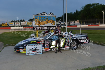 """20170527-485 - ARCA Midwest Tour """"Salute the Troops 100"""" at Jefferson Speedway - Jefferson, WI 5/27/2017"""