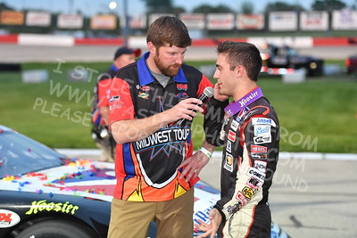 """20170527-352 - ARCA Midwest Tour """"Salute the Troops 100"""" at Jefferson Speedway - Jefferson, WI 5/27/2017"""