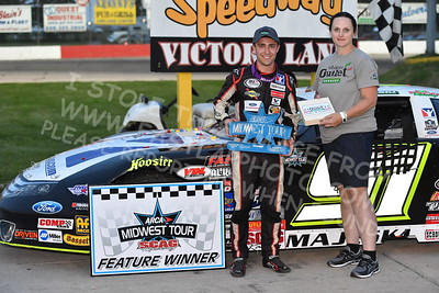 """20170527-357 - ARCA Midwest Tour """"Salute the Troops 100"""" at Jefferson Speedway - Jefferson, WI 5/27/2017"""