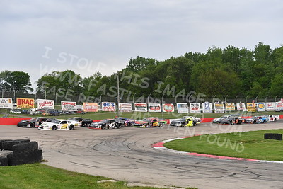 """20170527-213 - ARCA Midwest Tour """"Salute the Troops 100"""" at Jefferson Speedway - Jefferson, WI 5/27/2017"""