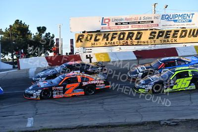 "20170701 422 - ARCA Midwest Tour ""Kar Korner All-Star 100"" at Rockford Speedway - Loves Park, IL - 7/1/17"