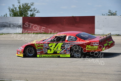 """20170715 061 - ARCA Midwest Tour """"Wayne Carter Classic 100"""" at Grundy County Speedway - Morris, IL - 7/15/17"""