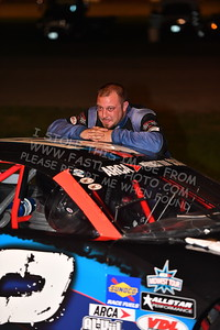 """20170715 723 - ARCA Midwest Tour """"Wayne Carter Classic 100"""" at Grundy County Speedway - Morris, IL - 7/15/17"""