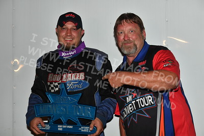"""20170715 812 - ARCA Midwest Tour """"Wayne Carter Classic 100"""" at Grundy County Speedway - Morris, IL - 7/15/17"""