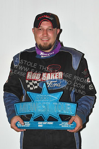 """20170715 815 - ARCA Midwest Tour """"Wayne Carter Classic 100"""" at Grundy County Speedway - Morris, IL - 7/15/17"""