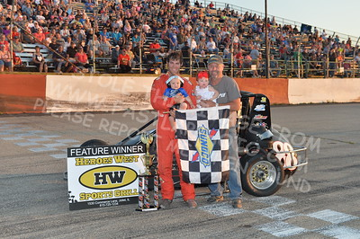 "20170715 1022 - ARCA Midwest Tour ""Wayne Carter Classic 100"" at Grundy County Speedway - Morris, IL - 7/15/17"