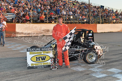 "20170715 1020 - ARCA Midwest Tour ""Wayne Carter Classic 100"" at Grundy County Speedway - Morris, IL - 7/15/17"