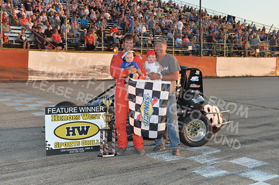"20170715 1023 - ARCA Midwest Tour ""Wayne Carter Classic 100"" at Grundy County Speedway - Morris, IL - 7/15/17"