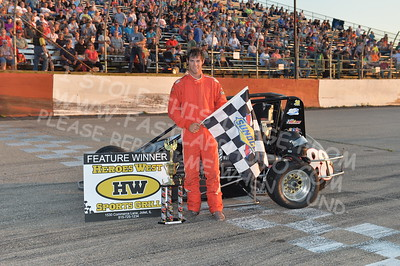 "20170715 1021 - ARCA Midwest Tour ""Wayne Carter Classic 100"" at Grundy County Speedway - Morris, IL - 7/15/17"