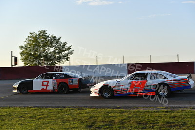 """20170715 489 - ARCA Midwest Tour """"Wayne Carter Classic 100"""" at Grundy County Speedway - Morris, IL - 7/15/17"""
