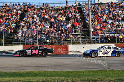 """20170715 496 - ARCA Midwest Tour """"Wayne Carter Classic 100"""" at Grundy County Speedway - Morris, IL - 7/15/17"""
