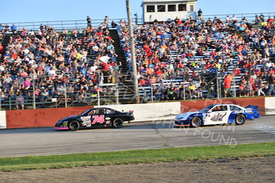 """20170715 495 - ARCA Midwest Tour """"Wayne Carter Classic 100"""" at Grundy County Speedway - Morris, IL - 7/15/17"""