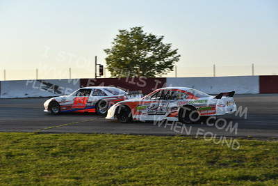 """20170715 493 - ARCA Midwest Tour """"Wayne Carter Classic 100"""" at Grundy County Speedway - Morris, IL - 7/15/17"""
