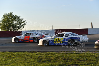 """20170715 486 - ARCA Midwest Tour """"Wayne Carter Classic 100"""" at Grundy County Speedway - Morris, IL - 7/15/17"""