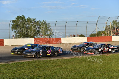 """20170715 497 - ARCA Midwest Tour """"Wayne Carter Classic 100"""" at Grundy County Speedway - Morris, IL - 7/15/17"""