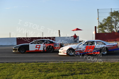 """20170715 494 - ARCA Midwest Tour """"Wayne Carter Classic 100"""" at Grundy County Speedway - Morris, IL - 7/15/17"""