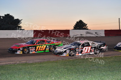 """20170715 634 - ARCA Midwest Tour """"Wayne Carter Classic 100"""" at Grundy County Speedway - Morris, IL - 7/15/17"""