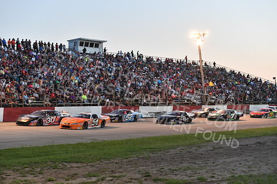 """20170715 596 - ARCA Midwest Tour """"Wayne Carter Classic 100"""" at Grundy County Speedway - Morris, IL - 7/15/17"""