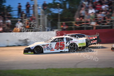 """20170715 608 - ARCA Midwest Tour """"Wayne Carter Classic 100"""" at Grundy County Speedway - Morris, IL - 7/15/17"""