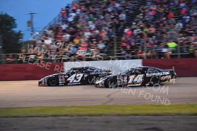 """20170715 611 - ARCA Midwest Tour """"Wayne Carter Classic 100"""" at Grundy County Speedway - Morris, IL - 7/15/17"""
