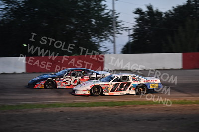 """20170715 615 - ARCA Midwest Tour """"Wayne Carter Classic 100"""" at Grundy County Speedway - Morris, IL - 7/15/17"""