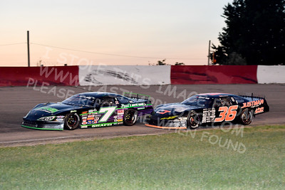 """20170715 628 - ARCA Midwest Tour """"Wayne Carter Classic 100"""" at Grundy County Speedway - Morris, IL - 7/15/17"""