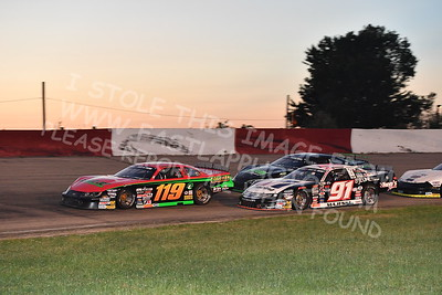 """20170715 625 - ARCA Midwest Tour """"Wayne Carter Classic 100"""" at Grundy County Speedway - Morris, IL - 7/15/17"""