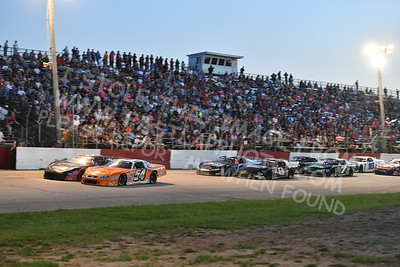 """20170715 600 - ARCA Midwest Tour """"Wayne Carter Classic 100"""" at Grundy County Speedway - Morris, IL - 7/15/17"""