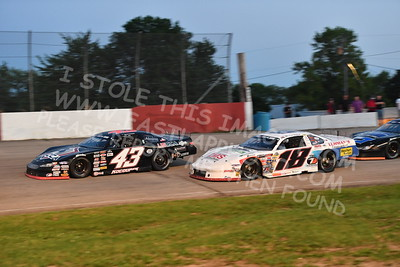 """20170715 604 - ARCA Midwest Tour """"Wayne Carter Classic 100"""" at Grundy County Speedway - Morris, IL - 7/15/17"""