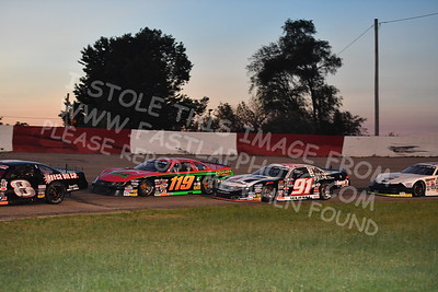 """20170715 633 - ARCA Midwest Tour """"Wayne Carter Classic 100"""" at Grundy County Speedway - Morris, IL - 7/15/17"""