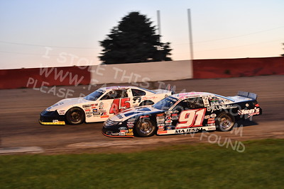 """20170715 621 - ARCA Midwest Tour """"Wayne Carter Classic 100"""" at Grundy County Speedway - Morris, IL - 7/15/17"""