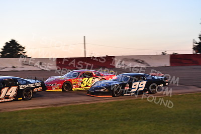 """20170715 617 - ARCA Midwest Tour """"Wayne Carter Classic 100"""" at Grundy County Speedway - Morris, IL - 7/15/17"""