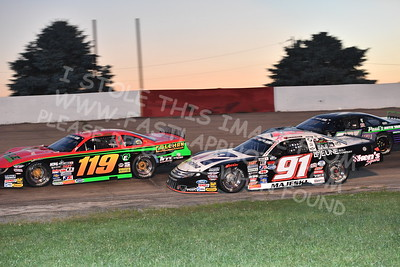 """20170715 626 - ARCA Midwest Tour """"Wayne Carter Classic 100"""" at Grundy County Speedway - Morris, IL - 7/15/17"""