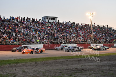 """20170715 595 - ARCA Midwest Tour """"Wayne Carter Classic 100"""" at Grundy County Speedway - Morris, IL - 7/15/17"""