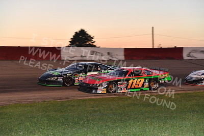 """20170715 623 - ARCA Midwest Tour """"Wayne Carter Classic 100"""" at Grundy County Speedway - Morris, IL - 7/15/17"""