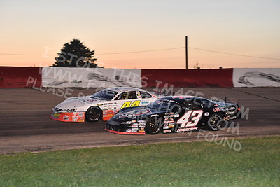 """20170715 631 - ARCA Midwest Tour """"Wayne Carter Classic 100"""" at Grundy County Speedway - Morris, IL - 7/15/17"""