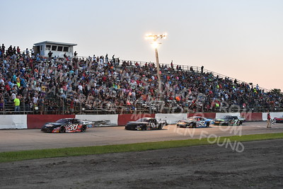 """20170715 594 - ARCA Midwest Tour """"Wayne Carter Classic 100"""" at Grundy County Speedway - Morris, IL - 7/15/17"""