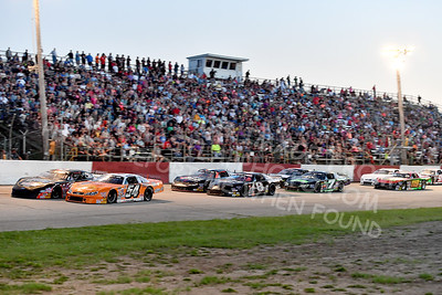 """20170715 597 - ARCA Midwest Tour """"Wayne Carter Classic 100"""" at Grundy County Speedway - Morris, IL - 7/15/17"""