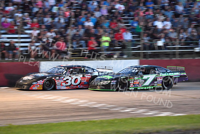 """20170715 610 - ARCA Midwest Tour """"Wayne Carter Classic 100"""" at Grundy County Speedway - Morris, IL - 7/15/17"""